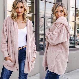 Bellanblue Jackets & Coats - AUTUMN WONDERS Softest Hoodie- MAUVE